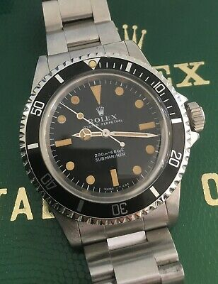 $ CDN25075.58 • Buy Rolex Submariner 5513 Meters First 1965