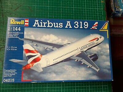 REVELL Airbus A319, British Airways, 1/144, Sealed Box, Vgc, Serial 04215 • 6.99£