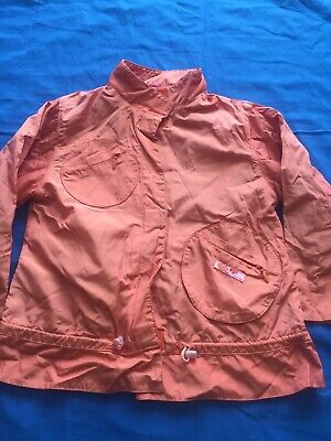 Marese Girls/childrens Orange Designer Waterproof Jacket Age 3 Size 98eu • 6.49£