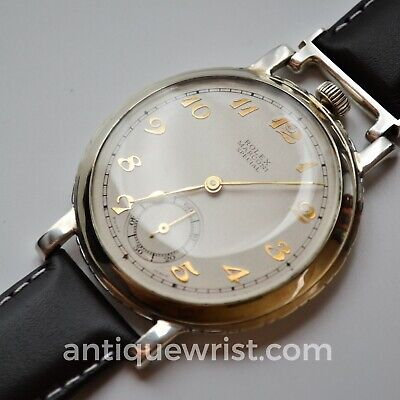$ CDN1653.21 • Buy Rolex Marconi Tropical Dial Vintage Mens Pocket Watch Converted To Wristwatch