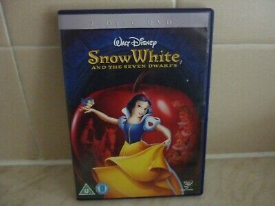 Snow White And The Seven Dwarfs DVD Walt Disney. • 1.20£