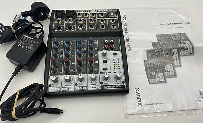 Behringer Xenyx802 8-Input 2-Bus Live Mixer Mic Preamp British EQ  FAST SHIPPING • 52.45£
