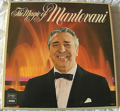 Readers Digest - The Magic Of Mantovani - 7 Lp Vinyl Box Set - Great Condition • 30£