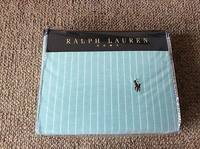 Brand New Ralph Lauren Home 100% Cotton Blue Duvet Cover 200x200 Rrp £180 • 89.99£