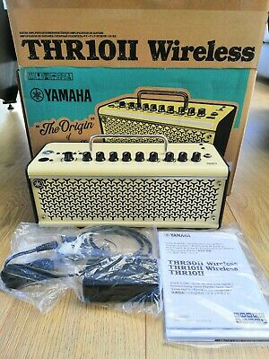 Yamaha THR10II Wireless Guitar Amp Combo With Bluetooth Control - Mint And Boxed • 325£