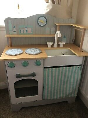 £40 • Buy Early Learning Centre Wooden Classic Kitchen Kids Pretend Play Fun Toys Cooking