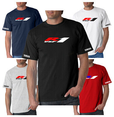 New Yamaha YZF R1 Inspired T-Shirt Small To 3XL Choice Of 5 Colours • 12.95£