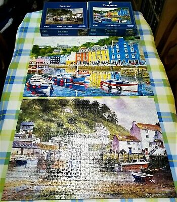 2 Gibsons 1000 Piece Jigsaws - Coastal Portraits By Terry Harrison  • 18£