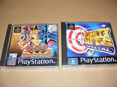 PS1 Playstation Game Mighty Hits Special,  Yu -Gi - Oh  Forbidden Memories • 14.95£