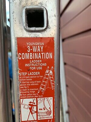 Youngman 3 Way Multi Combination Ladder • 50£