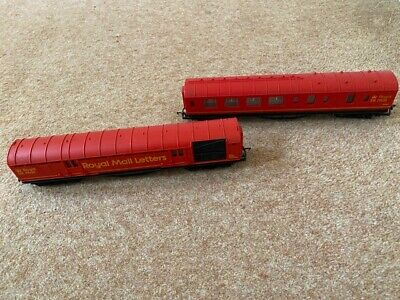 Hornby 00 Gauge Royal Mail TPO Coaches X2 NSX80363 80868 Used Unboxed • 30£