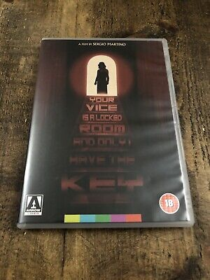 Your Vice Is A Locked Room And Only I Have The Key - R2 DVD Arrow Giallo Horror • 1.65£