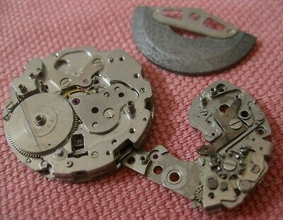 $ CDN116 • Buy Parts From Seiko  Chronograph  Cal 6139 6138  MOVEMENT For Parts  Not Complete