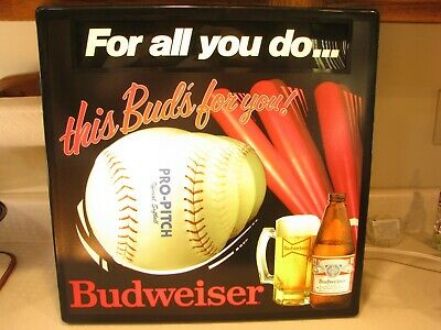 $ CDN70.56 • Buy Vintage Budweiser Lighted Beer Sign
