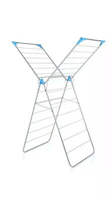Minky X Wing™ Indoor Airer 15m Drying Space - Silver • 20£
