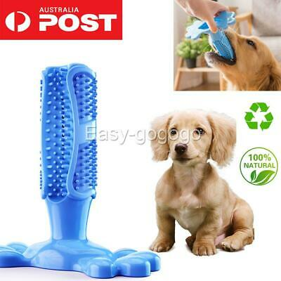 AU11.97 • Buy Dog Toothbrush Molars Brush Toy Pet Dental Health Cleaning Teeth Care M/L