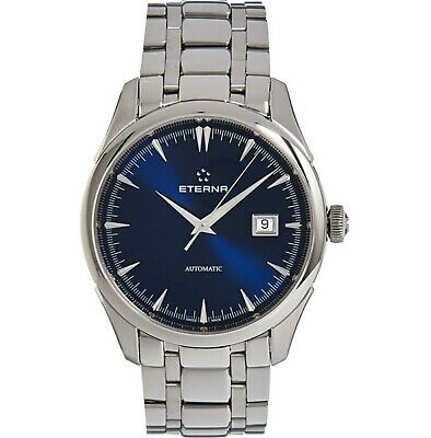 Mens Rare Eterna 1948 Eternity Legacy Swiss Made Blue Dial Watch • 1,600£