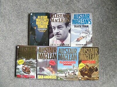 Alistair Maclean - Partisans, Floodgate, San Andreas, Lonely Sea & Biography ++ • 7.99£