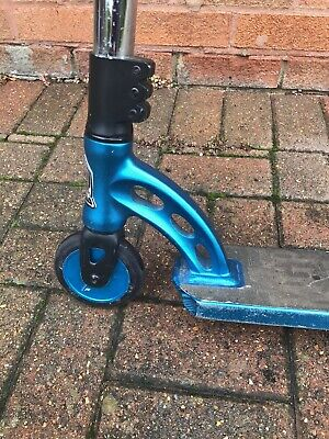 MGP Stunt Scooter With Upgraded Wheels In Blue • 20£