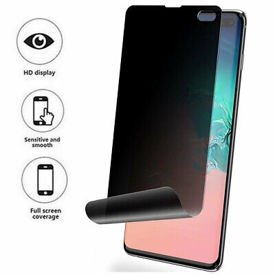 $ CDN4.95 • Buy Galaxy S8 S9 S10 S20 Plus Ultra 5G Note 8 9 10 Privacy Film Screen Protector