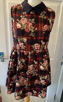 Womens Hearts And Bows Size 12 Dress • 1.50£