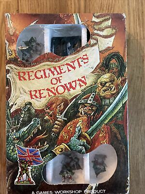 Games Workshop Citadel Miniatures Regiments Of Renown • 26£