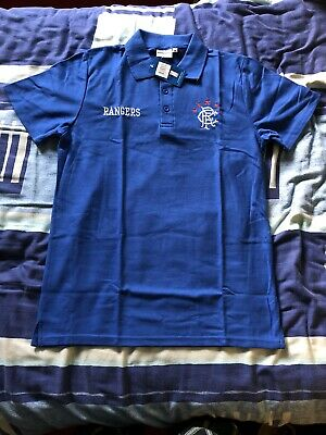 Glasgow Rangers FC Official Football Polo Shirt Brand New With Tags Size Medium • 14.99£