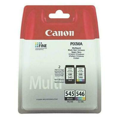 Canon Original PG-545/CL-546 8287B005 Ink Multipack (180 Pages) • 27£