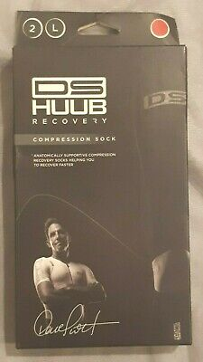 Huub Dave Scott Recovery Compression Socks Pink Large New In Box • 16.99£