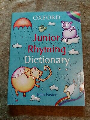 £4.50 • Buy 🌈Childrens Oxford Junior Rhyming Dictionary 🌈