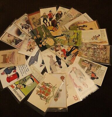 25  Mostly COMIC Postcards All Good Phil May/Cynicus/Browne 2 Heraldic  • 9.99£