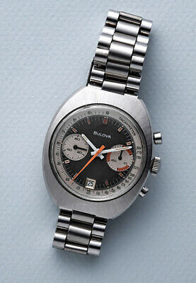 $ CDN2580.63 • Buy Bulova Chronograph Watch Vintage Racing N1 1971 Valjoux Heuer Movement