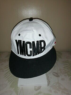 YMCMB Snapback Baseball Cap Hat In White • 4.99£