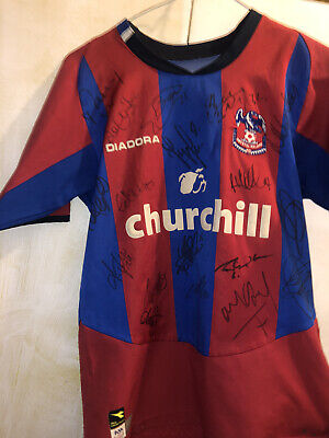 Signed Crystal Palace Shirt Antique • 17£
