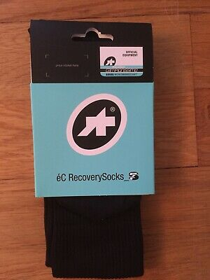 Assos Recovery Compression Socks, Size 0, EU35-38 (4-6 US) • 3.99£