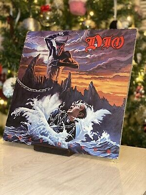 """Dio - Holy Diver - 12"""" Vinyl - Record - Lp - With Copyright Control Labels • 23.50£"""