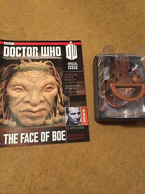 EAGLEMOSS DOCTOR WHO DIE-CAST No 7 THE FACE OF BOE SPECIAL FIGURE • 14.99£