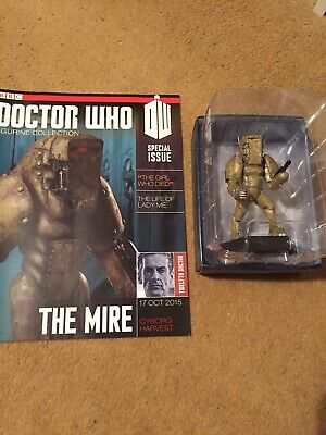EAGLEMOSS DOCTOR WHO DIE-CAST No 8 THE MIRE SPECIAL FIGURE • 14.99£