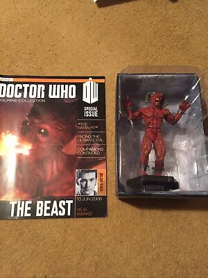 EAGLEMOSS DOCTOR WHO DIE-CAST No 5 THE BEAST SPECIAL FIGURE • 14.99£