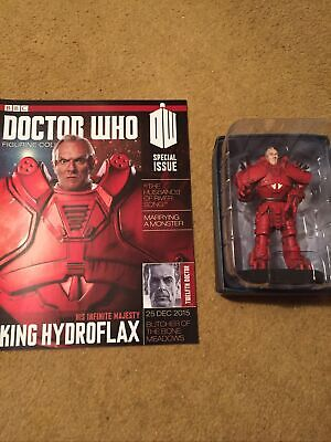 EAGLEMOSS DOCTOR WHO DIE-CAST No 10 KING HYDROFLAX SPECIAL FIGURE • 14.99£