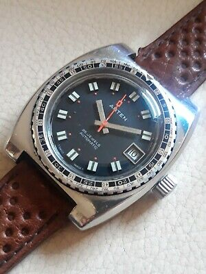 $ CDN222.12 • Buy Arten Diver Vintage 200mt Excellent 39mm Automatic Full Steel ETA Movement