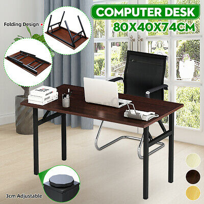 AU50.34 • Buy New Folding Computer Desk Laptop PC Table Home Office Study Writing Workstation
