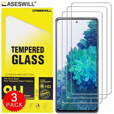 $ CDN5.21 • Buy For Samsung Galaxy S20 FE Note10 S10 Lite 9H Tempered Glass HD Screen Protector