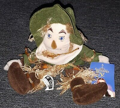 10 Inch Plush Scarecrow Beanie From The Wizard Of Oz • 7.99£