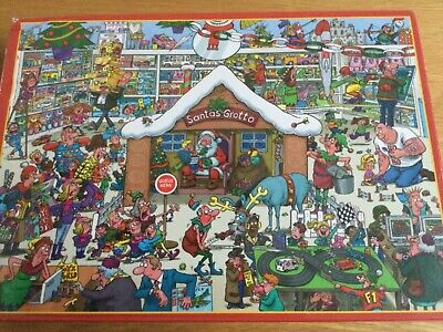 Santa's Grotto  1000 Piece Jigsaw Puzzle By Lee Fearnley • 5.99£