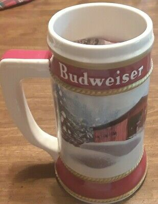 $ CDN32.44 • Buy 2019 Budweiser Holiday Stein 40th Anniversary   Winter Passage  Clydesdale Mug