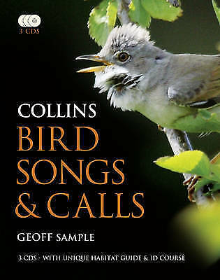 Collins Bird Songs And Calls (Book & 3 CDs), Sample, Geoff , Good, FAST Delivery • 82.52£