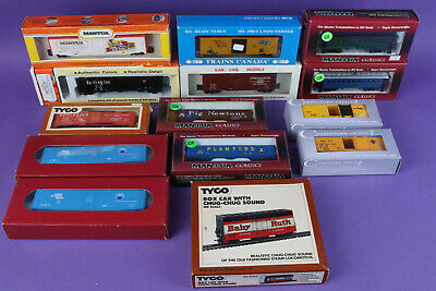 $ CDN65.44 • Buy Lot Of 15 HO Scale Train Cars In Boxes