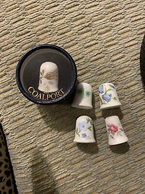 Coalport Thimble And Others • 3.80£