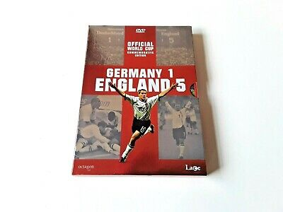 £1.95 • Buy GERMANY 1 ENGLAND 5 - DVD Pack (2001 Lace 354) World Cup Football DVD